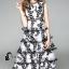 พร้อมส่ง Maxi dress ลูกไม้ 5 ชั้น thumbnail 10