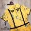 เสื้อผ้าเกาหลี พร้อมส่ง จั้มสูท คอบัวปักดอกไม้ thumbnail 11
