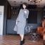 เสื้อผ้าเกาหลี พร้อมส่ง Set เสื้อไหมพรม thumbnail 1