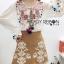 พร้อมส่ง เสื้อคอตตอนปักดอกไม้สีสดใส thumbnail 5
