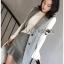 เสือผ้าแฟชันเกาหลี พร้อมส่ง เซ็ตเสื้อสูทลายสก๊อต thumbnail 10