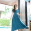 พร้อมส่ง Maxi dress ผ้ายืดผ้านุ่มนิ่ม thumbnail 9