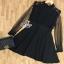 พร้อมส่ง Mini Dress ลุคเรียบหรู thumbnail 13