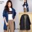 เสื้อเกาหลี พร้อมส่ง Blazer Jean เสื้อคลุม thumbnail 7