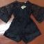 พร้อมส่ง Short Jumpsuit ทรงน่ารัก เสื้อผ้าเกาหลี thumbnail 12