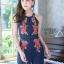 เสื้อผ้าแฟชั่นเกาหลี จั้มสูทปักดอกกุหลาบ พร้อมส่ง thumbnail 14