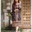 ชุดเดรสเกาหลี พร้อมส่ง Dress งานปริ้นลาย thumbnail 1
