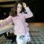 เสื้อเกาหลี พร้อมส่ง เสื้อคลุมเบเซอร์ ผ้าทวีต thumbnail 1