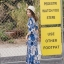 ชุดเดรสเกาหลี พร้อมส่ง maxi dress สีน้ำเงินพิมพ์ลายดอก thumbnail 5