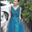 พร้อมส่ง Dress ลุคไฮโซเรียบหรู thumbnail 5