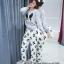 เสื้อผ้าเกาหลี เซทขนมิงค์ พร้อมส่ง thumbnail 1