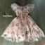 พร้อมส่ง Mini Dress พิมลายดอกไม้ซีทรู thumbnail 4