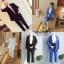 เสื้อผ้าเกาหลี พร้อมส่ง เสื้อคลุมกับกางเกงขายาว thumbnail 4
