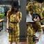 พร้อมส่ง Dress แขนตุ๊กตา งานเกาหลี thumbnail 7