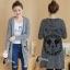 เสื้อเกาหลี ไหมพรมตัวยาวมี3สี พร้อมส่ง thumbnail 10