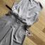 เสื้อผ้าแฟชั่นเกาหลี พร้อมส่ง จัมป์สูท จับจีบสีกากี thumbnail 12