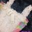 พร้อมส่ง Playsuit ขาสั้น ด้านข้างสีรุ้งพาสเทล thumbnail 4