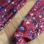 ชุดเดรสเกาหลี พร้อมส่ง เดรสยาว ผ้าเครปพิมพ์ลายดอกไม้ thumbnail 17