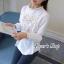 พร้อมส่ง เสื้อสไตส์เกาหลี งานปักแน่น thumbnail 2