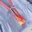 พร้อมส่ง เสื้อคลุมโบฮีเมี่ยนผ้าลายริ้ว thumbnail 3