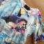 พร้อมส่ง เซ็ตเสื้อผ้าชีฟองพิมพ์ลายสีสดประดับชั้นและกางเกงขาสั้นผ้าซาติน thumbnail 11