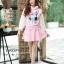 เสื้อเกาหลี พร้อมส่ง จั้มเปอร์ฮู้ด ลายกระต่าย thumbnail 7