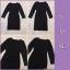 Dress ชุดเดรสเกาหลี พร้อมส่ง กระโปรงทรงสอบ thumbnail 3