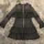 พร้อมส่ง Mini dress ลูกไม้สีดำลูกไม้เเน่นๆ thumbnail 7