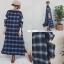 ชุดเดรสเกาหลี พร้อมส่ง Maxi dress แขนเว้า thumbnail 2