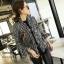 เสื้อเกาหลี พร้อมส่ง เสื้อคลุมเบเซอร์ ผ้าทวีต thumbnail 5