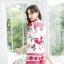 เสื้อผ้าเกาหลีพร้อมส่ง จั๊มสูทพิมพ์ลายเชิง thumbnail 10