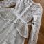 ชุดเดรสลูกไม้ พร้อมส่ง เดรสผ้าลูกไม้ สีขาวปักมุก thumbnail 13