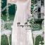 ชุดเดรสเกาหลี พร้อมส่ง เดรสผ้าลูกไม้สีขาวสไตล์เจ้าหญิง thumbnail 3