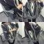 เสื้อผ้าเกาหลีผ้าไหมพรม สามเหลี่ยม พร้อมส่ง thumbnail 2