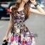พร้อมส่ง เดรส Korea Style ลายผ้าสวย thumbnail 1