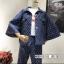 เสื้อผ้าเกาหลี พร้อมส่ง Set Jacket + pant thumbnail 3