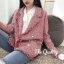 พร้อมส่ง เสื้อคลุมผ้าชาเนล Chanel blazer thumbnail 1