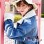 เสื้อเกาหลี พร้อมส่ง แจ๊คเก็ตยีนส์ฟอกเท่ๆ ทรงใหญ่ thumbnail 12