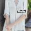 เสื้อเกาหลี พร้อมส่ง เสื้อปักสไตล์โบโฮ คอวี thumbnail 4