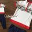 เสื้อผ้าเกาหลี พร้อมส่ง เสื้อยืดกับกางเกงเอวสม็อค thumbnail 4