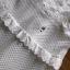 ชุดเดรสลูกไม้ พร้อมส่ง เดรสยาวผ้าลูกไม้ สีขาว ระบายเลเยอร์ thumbnail 12