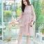 ชุดเดรสลูกไม้ พร้อมส่ง Lace Dress ทรงบาน thumbnail 4