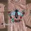 เสื้อผ้าเกาหลี พร้อมส่ง เสื้อปักลายผึ้ง ดอกไม้ กับกระโปรง thumbnail 3