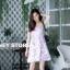 ชุดเดรสเกาหลี พร้อมส่ง mini dress สายเดี่ยว ทรงเข้ารูป thumbnail 8