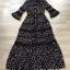 ชุดเดรสเกาหลี พร้อมส่ง Maxi Dress แต่งลูกไม้ thumbnail 2