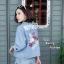 เสื้อเกาหลี พร้อมส่ง เสื้อแจ๊ตเกตปักลาย thumbnail 1