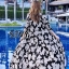 ชุดเดรสเกาหลี พร้อมส่ง Maxi dress ไขว้ด้านหน้า thumbnail 2