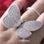พร้อมส่ง Butterfly Diamond Ring งานเพชร CZ แท้ thumbnail 5