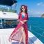 เดรสเกาหลี พร้อมส่ง Maxi Dress ลายดอก thumbnail 4