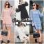 เดรสแฟชั่น พร้อมส่ง MINI Dress แขนกระดิ่ง thumbnail 7